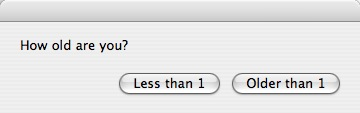 How to customize AppleScript dialogs (dialog boxes buttons and icons