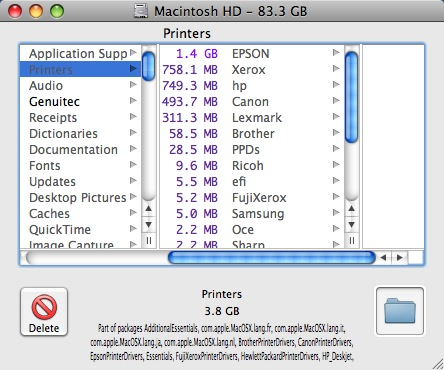 Mac disk space - How to reclaim lost disk space on Mac OS X