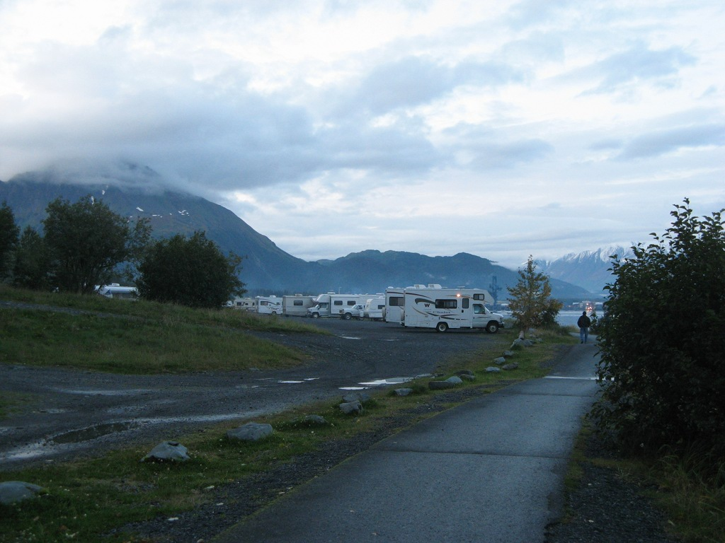 Resurrection North Campground, Seward, Alaska
