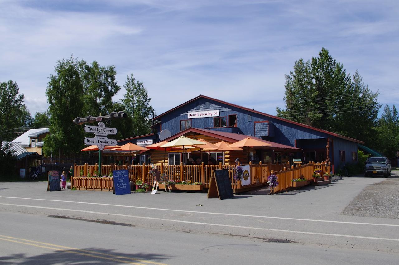 The Denali Brewing Company Talkeetna Alaska