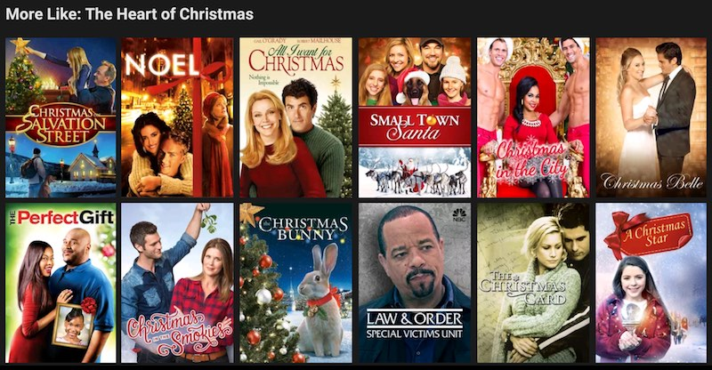 netflix christmas movie recommendations