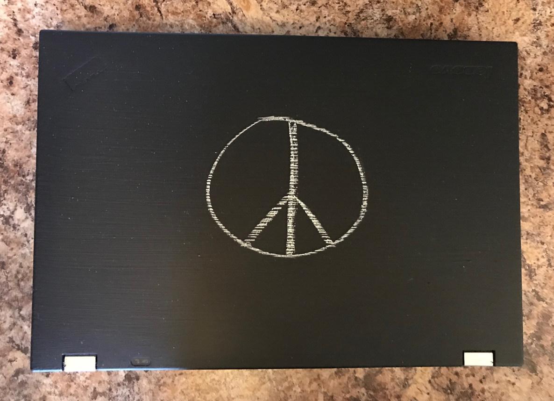 Chalkboard Painted Laptop Alvinalexander Com