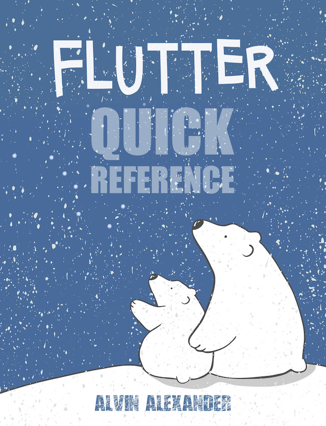 Flutter Quick Reference - book cover