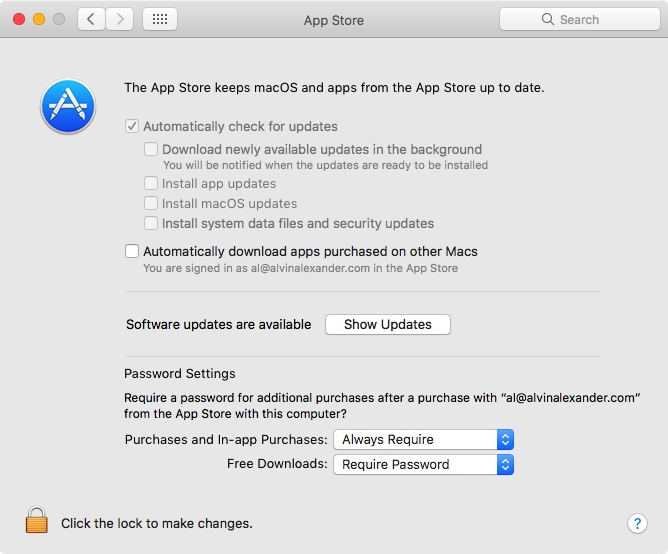 How to hide annoying MacOS update notifications