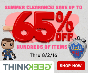 ThinkGeek summer clearance sale