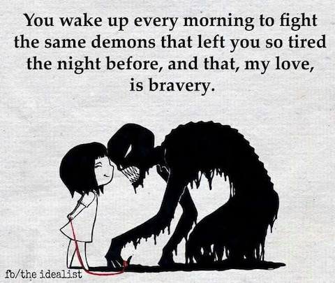 Wake up and fight the demons