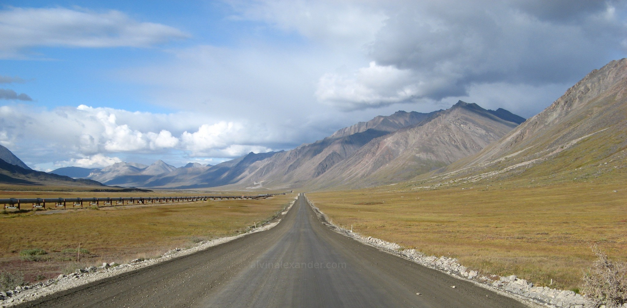 Alaska The Dalton Highway The Road To Deadhorse And