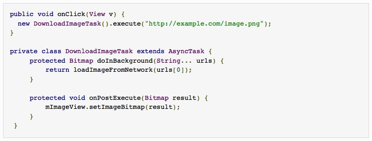 A simple Android AsyncTask example   alvinalexander com