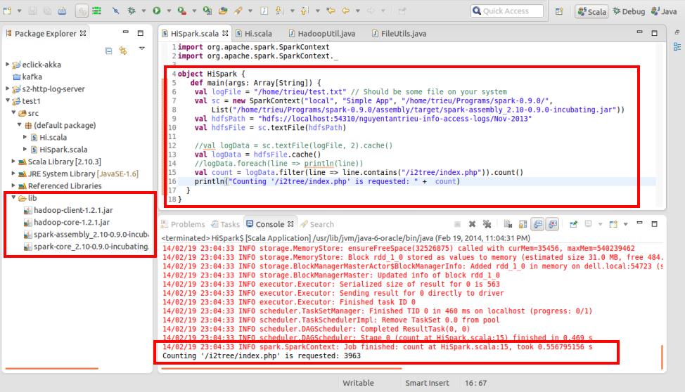 Install Apache Spark and fast log analytics   alvinalexander com
