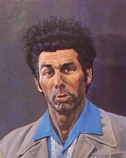 The famous Kramer painting from Seinfeld | alvinalexander.com