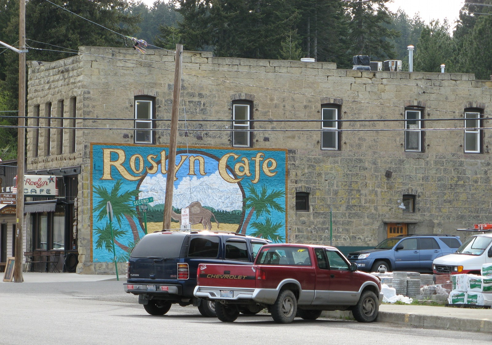 The Roslyn Cafe, Cicely, Alaska (er, Roslyn, Washington