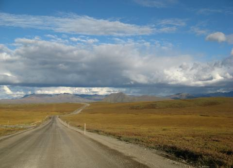 The Dalton Highway in Alaska