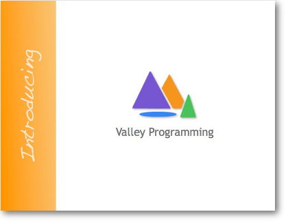 Valley Programming postcard
