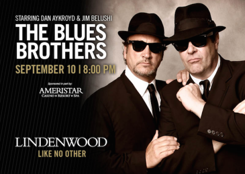 The Blues Brothers, on the road