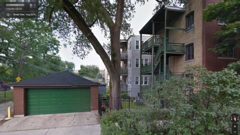 My old Chicago home (side view)