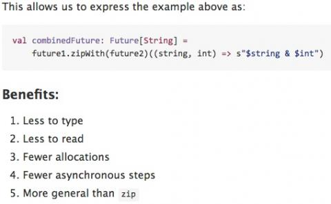 Futures in Scala 2.12