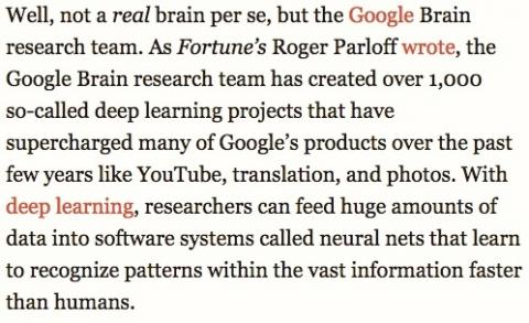 The Google Brain research team