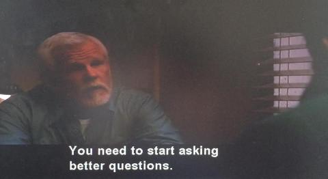You need to start asking better questions