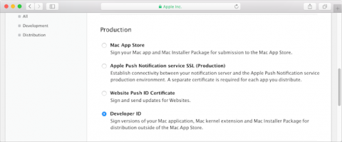 Apple: Maintaining Your Signing Identities and Certificates