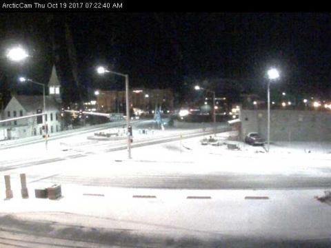 The Fairbanks, Alaska ArcticCam (snow)