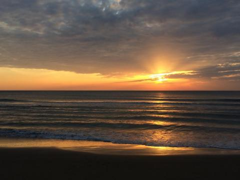 Sunrise in Virginia Beach, Virginia