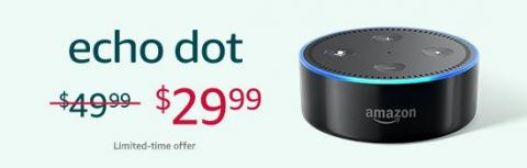 Amazon Echo Dot sale
