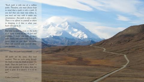 Carlos Castaneda meets Denali: 'Does this path have a heart?'