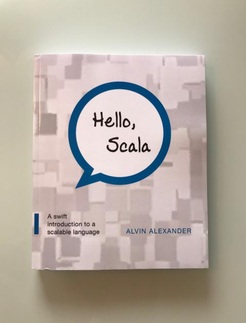 First proof of Hello, Scala