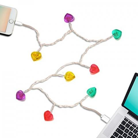 USB-powered Christmas lights