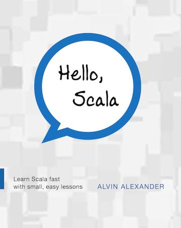Hello, Scala paperback book cover
