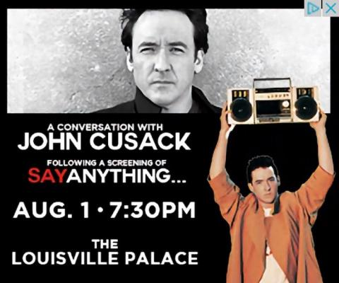 John Cusack at the Louisville Palace (August, 2019)