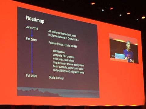 Scala 3.0 (Dotty) scheduled for release, Fall, 2020