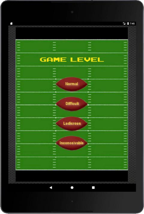 My 'XOP' football game UI, v1.4