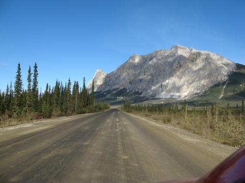 The drive from Fairbanks, Alaska to Deadhorse and Prudhoe Bay (photo #1)