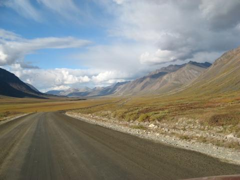 The drive from Fairbanks to Prudhoe Bay, Alaska