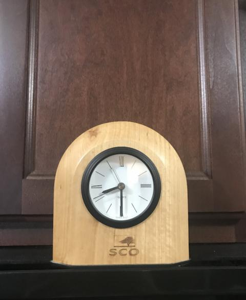 The old SCO (Santa Cruz Operation) clock