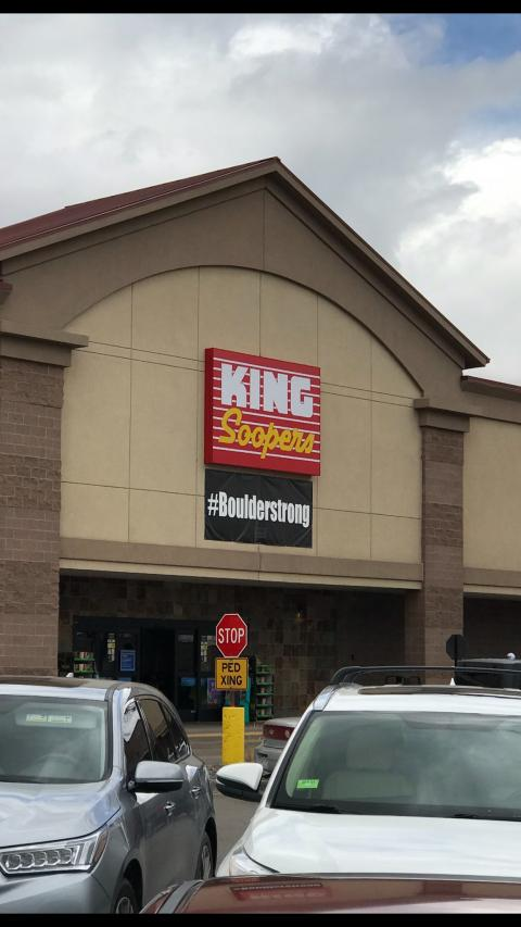 Boulderstrong: King Soopers in Louisville, Colorado