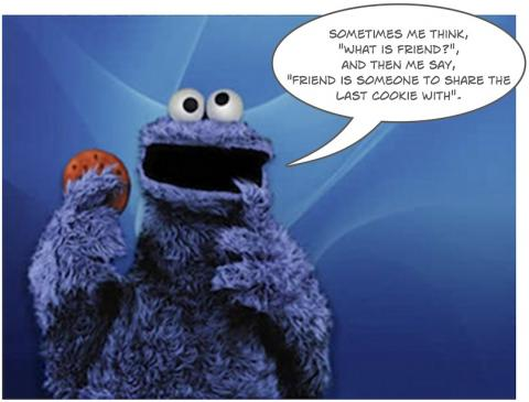 Cookie Monster - What is friend?