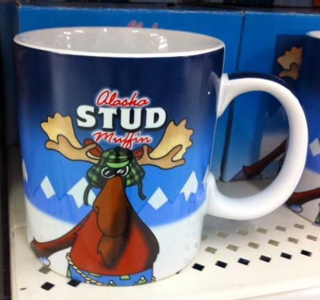 Alaska Stud Muffin coffee mug