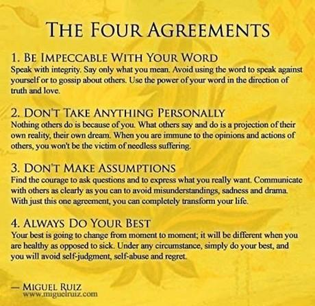 Miguel Ruiz The Four Agreements Alvinalexander