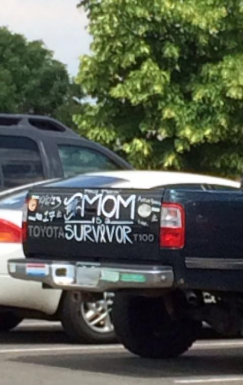 Mom is a survivor