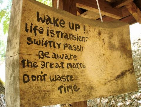An image from the Tassajara Zen Center