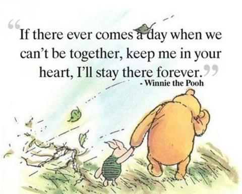 Winnie the Pooh on death (or separation)