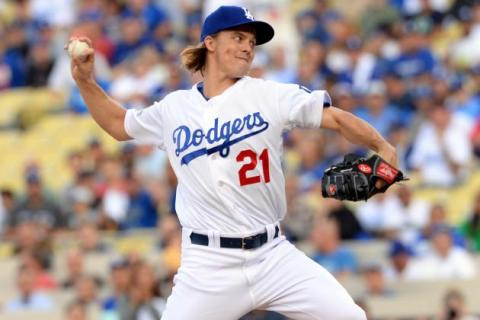 Zach Greinke's changeup grip