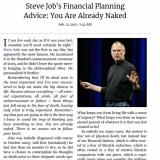 Steve Jobs - remembering that i will be dead soon