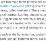 Mast cell disorders