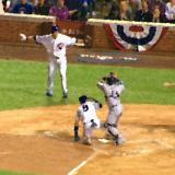 Javier Baez steals home