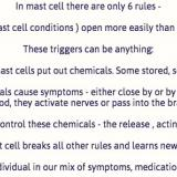 Six rules of mast cells