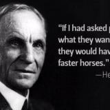 Henry Ford: Faster horses