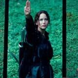 Katniss three-finger salute